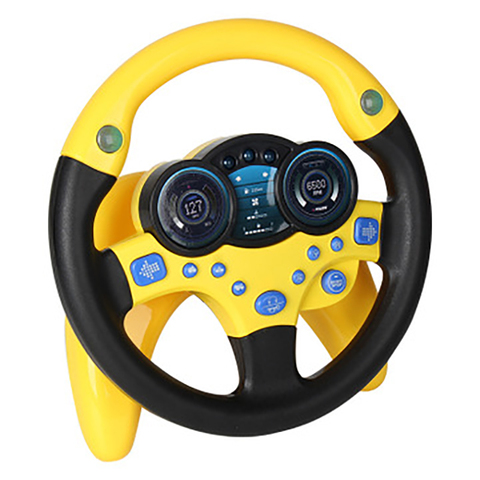 simulacao de volante com luz do bebe criancas brinquedos educativos brinquedo vocal eletronico para criancas