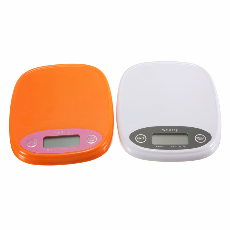 New 7kg/1g Digital Kitchen Food Diet Postal Scale Weight Balance Gram Backlight Jewelry Electronic  Measuring Tools