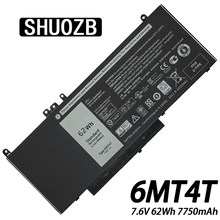Bateria Do Portátil Para Dell Latitude Precision 14 6MT4T 15 5470 E5470 5570 E5570 3510 M3510 Série 7V69Y TXF9M 79VRK 62Wh Novo SHUOZB