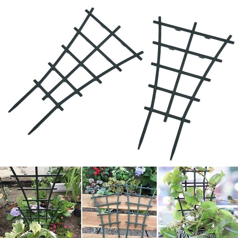 2 шт. 25 м пластик растение лоза лазание решетка сделай сам сад мини горшок держатель
