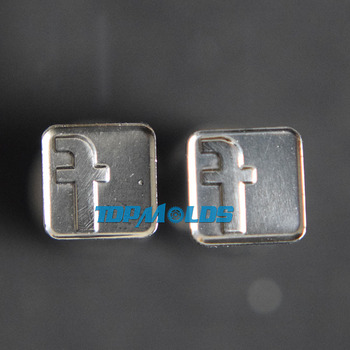 Facebook 8mm Milk Tablet Die 3D Punch Press Mold Candy Punching Die Custom Logo Calcium Tablet Punch Pill Press Manual Die
