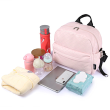Get more info on the Fashionable Plaid Pink Diaper Bag for Mommies Large Capacity Well-organized Space Maternity Backpack for Strollers
