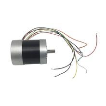 цена на D57BL74 Diameter 74mm 24 Volt Mini DC Electric Brushless Motor 3000rpm 65W 4.3A 0.21N.m Torque DC BLDC Brushless Motor 24V
