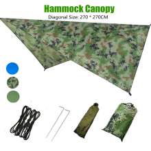 Portable Outdoor Garden Hammock Tents Waterproof Beach Picnic Pad Summer Sunshade 290*290cm Large Light Awning Hamak  2-3 People