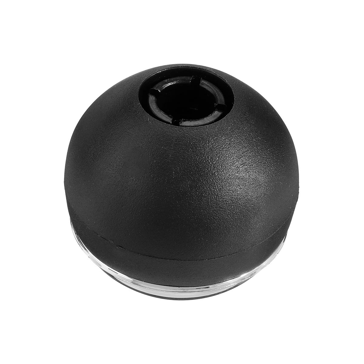 Color : Black Car Gear Shift Konb 5 6 Speed Chrome Gaiter Shifter Knob for M-i-n-i R50 2000-2006 Cabrio R52 2002-2008 R51 Auto Parts