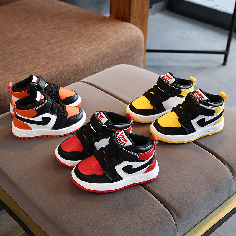 2020 New Brand Fashion Children Sneakers Cool Boys Girls Shoes Boots Kids Shoes Elegant Lovely Infant Tennis