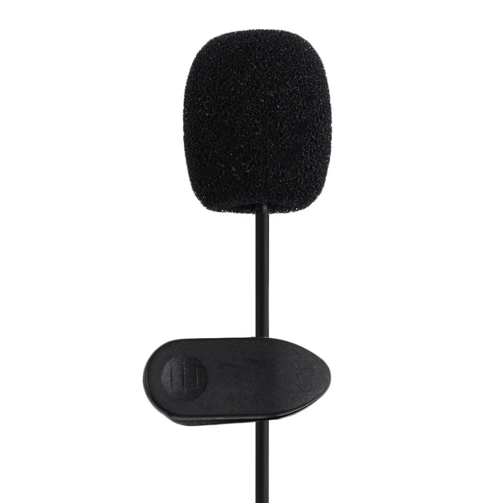 Portable Lavalier Lapel Microphone 3.5mm Mic Pro Best For Interviews, Video Recordings, Live Broadcasts Noise Cancelling Mic