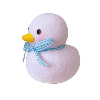 Cute duck LED night light ins girl bedroom decoration lamp for room bedside lamp decoration creative gift night light bedroom bedside table desk cute lamp remote decoration dimming dream romantic warm sleep decoration creative gift