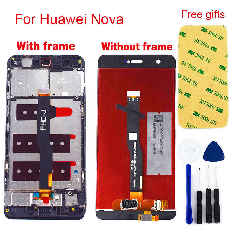 For Huawei Nova CAZ-AL10 CAN-L13 CAN-L03 CAN-L12 CAN-L02 CAN-L11 CAN-L01 LCD Display Panel + Touch Screen Sensor Assembly