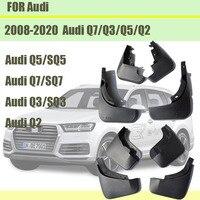 Dla Audi Q3 Q5 Q7 Q2 błotniki Audi Q3 Q5 Sline błotniki Q7 Sport błotniki samochodowe błotniki akcesoria samochodowe 2008 2020 w Błotniki od Samochody i motocykle na