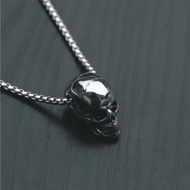 Skull Pendant Necklace 6