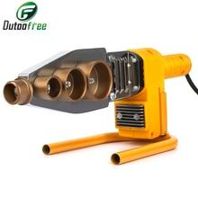 1Set 800W  Digital Display Water Pipe Welder Φ20-63mm Water Pipe Plastic Welder Machine Plumber Heating PPR RPV Butt Welding