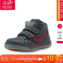 Apakowa enfants chaussures garçons printemps automne mode haut haut en cuir Pu extérieur Sport bottes enfants confortables bottines Eur 21 26