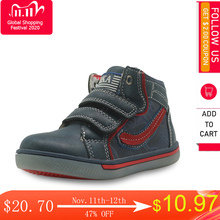 Apakowa çocuk ayakkabı erkek ilkbahar sonbahar moda yüksek top Pu deri açık spor çizmeler çocuk rahat yarım çizmeler Eur 21 26