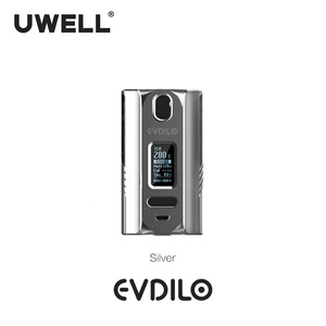 Image 5 - UWELL Evdilo Box Mod 200W Support Dual 18650 20700 21700 Batteries Fast Firing Fit for Valyrian II Tank E cigarette Vape Mod