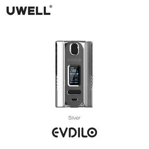 Image 5 - UWELL Evdilo תיבת Mod 200W תמיכה כפולה 18650 20700 21700 סוללות מהיר ירי Fit עבור Valyrian II טנק E סיגריות Vape Mod