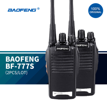 2PCS/LOT  Original BAOFENG BF-777S wireless walkie talkie handheld handy similar as baofeng 888 16chs uhf radios