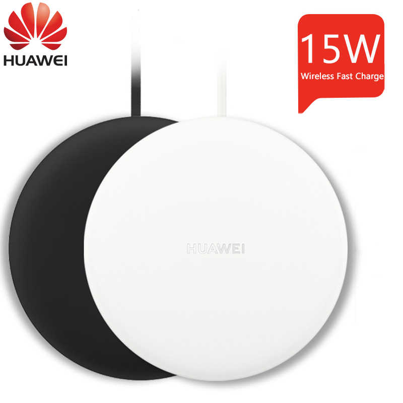 Chargeur sans fil Huawei 15W CP60 Charge rapide pour Huawei Mate 20 Pro iPhone X Samsung S9