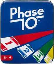 Fase 10 jogo de cartas com 108 cartões, faz um ótimo presente para crianças, noite de jogo da família ou adulto, idades 7 anos e mais velhos