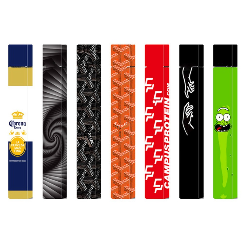 Personality Stickers For JUUL Skin Protector 2.5D Stereo Stickers  Vape Case Cover  Electronic Cigarette Stickers