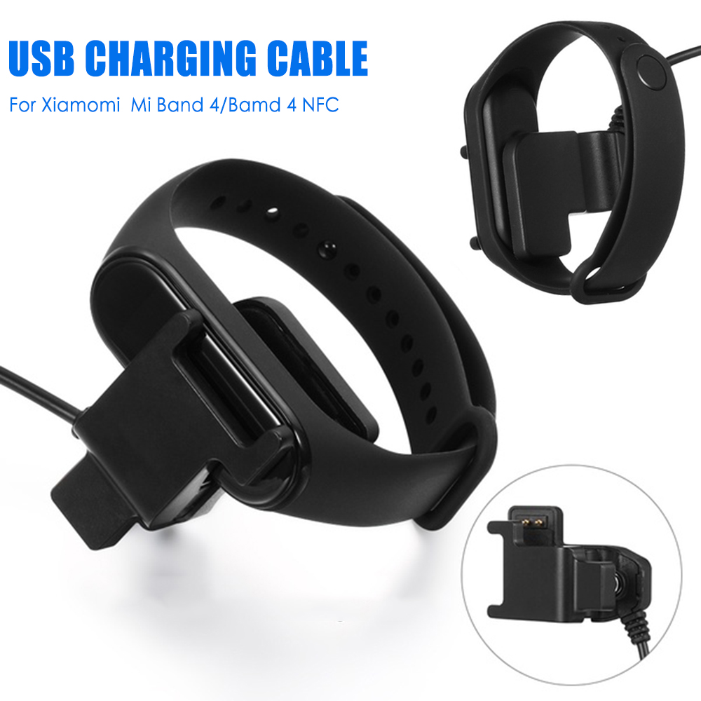 USB Charging Cable For Xiaomi Mi Band 4 NFC Disassembly Cable Charger ForMi Band 4 Adapter Charger For Mi Band 4 Smart Wristband