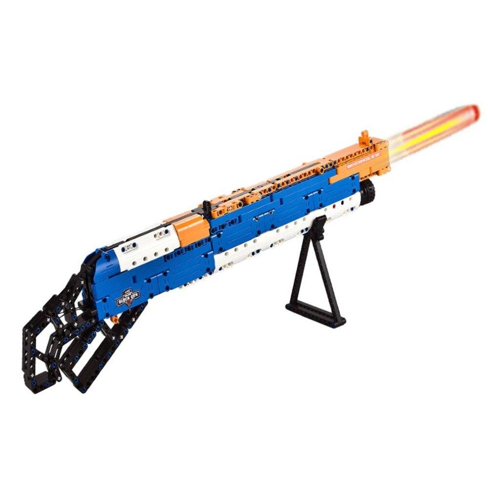 2019 nouveau 506 pièces 4D bricolage fusil assemblée modèle Puzzle soldat arme pistolet jouets cadeau éducatif pour enfants garçons jouet pistolet