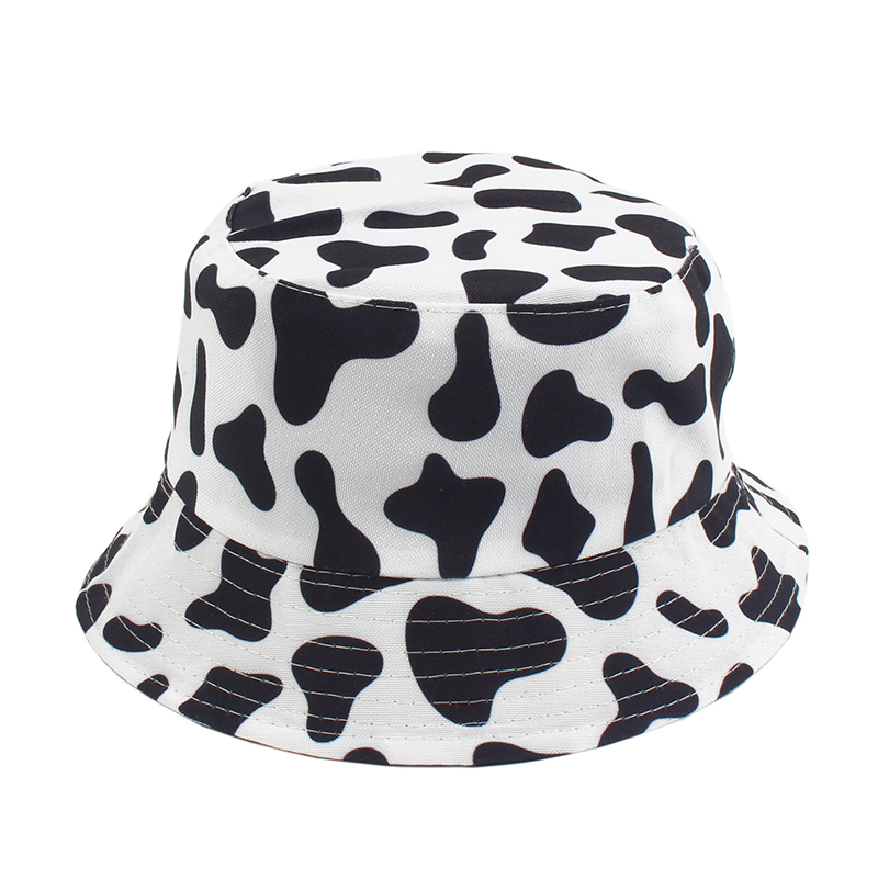 Milk Cow Print Sunglasses Oval Sunglasses Women Retro Brand Designer Vintage Lad