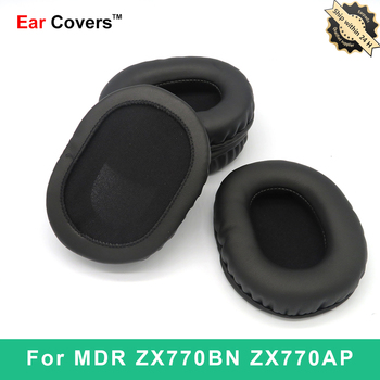 Ear Pads For Sony MDR-ZX770BN MDR-ZX770AP MDR ZX770BN ZX770AP Headphone Earpads Replacement Headset Ear Pad PU Leather ear pads for sony mdr zx770bn mdr zx770ap mdr zx770bn zx770ap headphone earpads replacement headset ear pad pu leather