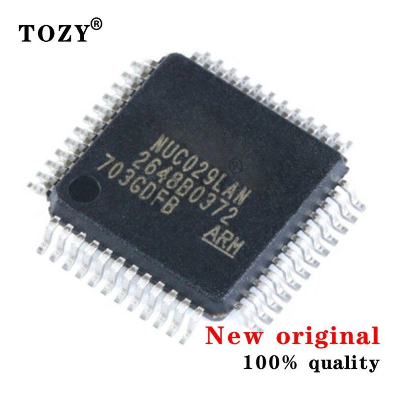 5pcs / lot new original Chip nuc029lan LQFP-48 ram: 4KB 32-bit microcontroller