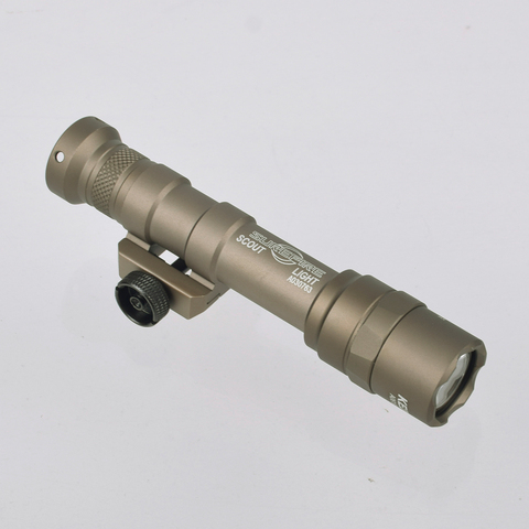 m600b m600 scout luz lanterna caca arma luz