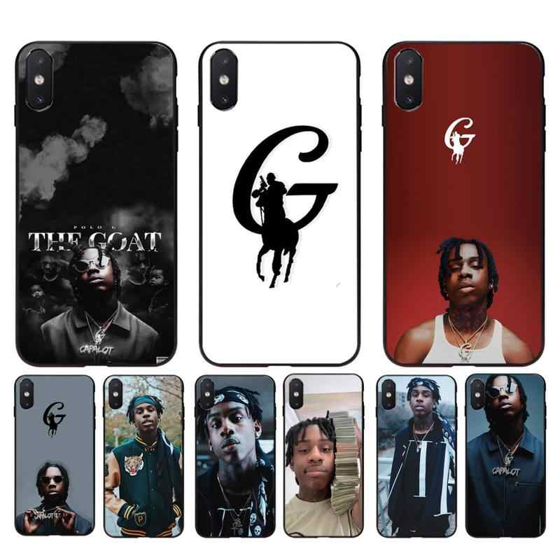 Yinuoda Polo G Shell Phone Case For iPhone 11 8 7 6 6S Plus X XS MAX 5 5S SE 2020 XR 11 pro Cover