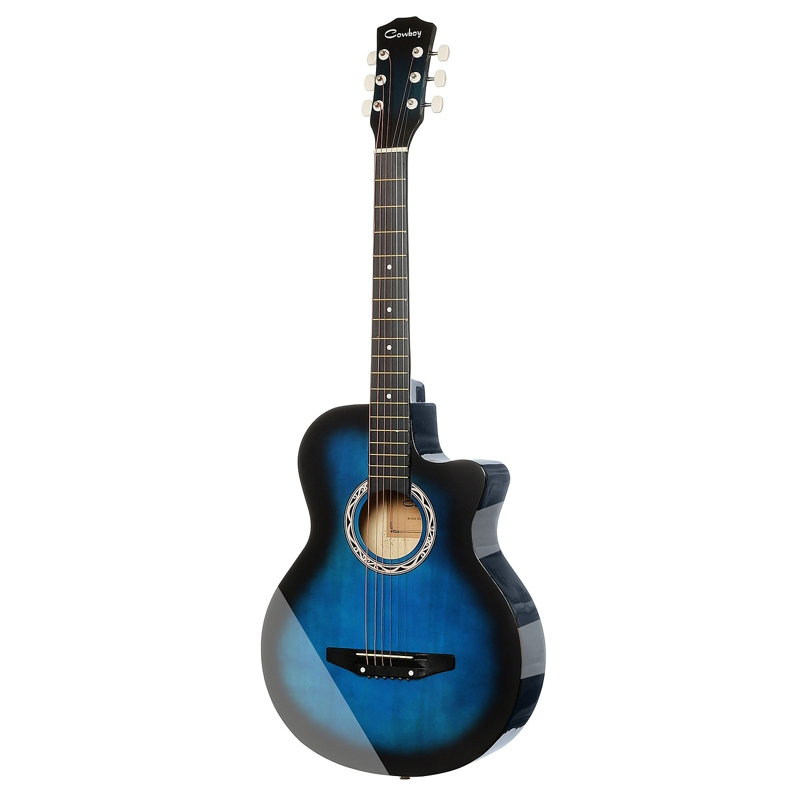 Guitar Acoustic Guitar COWBOY 38C BLS hot 5x sound hole pickup for acoustic guitar with tone volume control