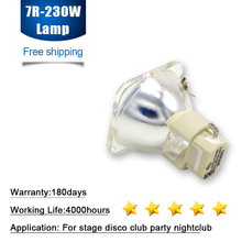 P VIP 180 230/1.0 E20.6 شعاع مصباح استبدال لمبة ل أوسرام 7R R7 مصباح 230W Sharpy نقل رئيس شعاع ضوء لمبة ضوء المرحلة
