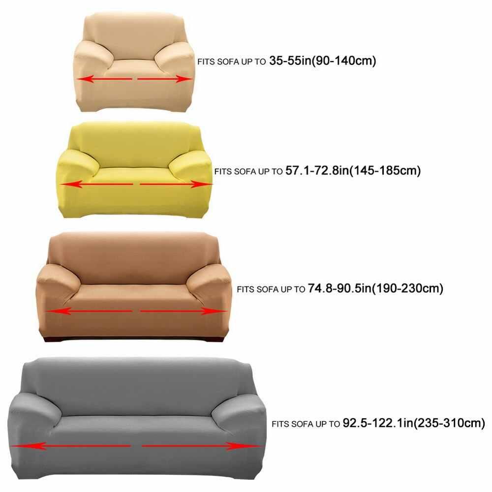 無地弾性ソファカバーオールインクルーシブの Slipcovers 1/2/3/4 人乗り現代コーナーソファソファ本のカバー椅子プロテクターホット