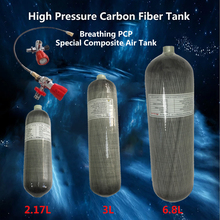 AC1217 Pcp Carbon Fiber Tank 2.17L/3L/6.8L 4500 Psi Air Rifle Condor Scuba Tank Cylinder Co2 For Compressed Air Gun 5 5