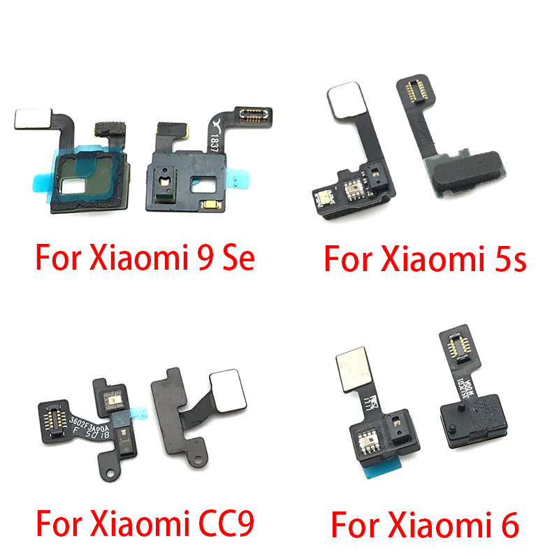 Proximity Light Sensor Flex Cable Distance Sensing Connector For Xiaomi Mi 5 5S Mi6 6 Mi9 9 CC9 Replacement Repair Spare Parts