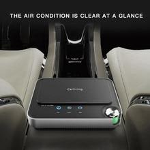 цена на HEPA Car Air Purifier 20 Million Negative Ions Air Freshener Four-layer Filter 12V USB Auto Oxygen Cleaner Vehicle Ozone Ionizer