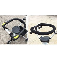 Detachable Foldable Fence Child Baby Three-wheeled Trolley Guardrail Accessories