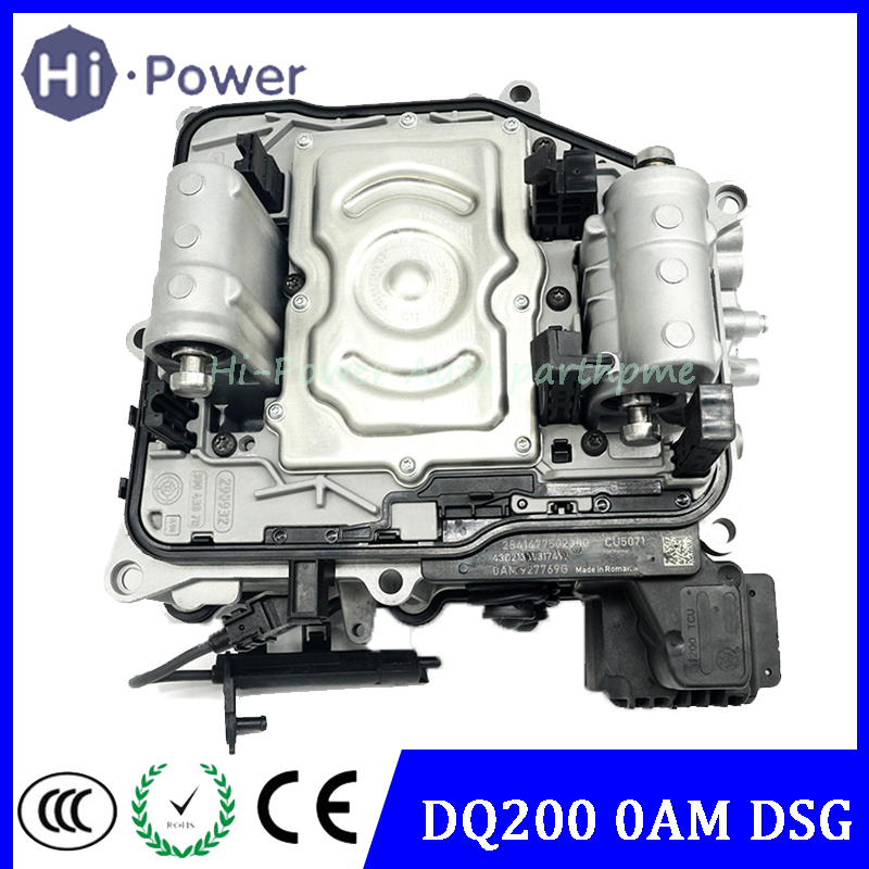 DQ200 0AM 7-DSG Gearbox Mechatronic 0am325065s Transmission Body Control Module +TCU 0AM927769D For VW Audi 7-SPEED DSG OAM