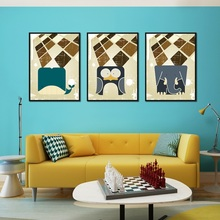 Nordic Decorative Paintings Abstract Simple Posters And Prints Wall Pictures For Living Room Canvas Painting Wall Art Paintings