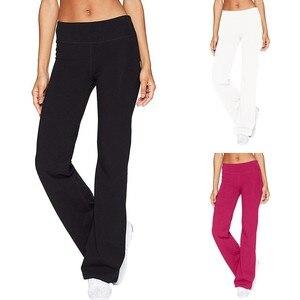 Leggings Sport Women Fitness Casual Solid Color Slim Hips Loose Yoga Pants Wide Leg Sports Pants Sportswear Calzas Mujer @40