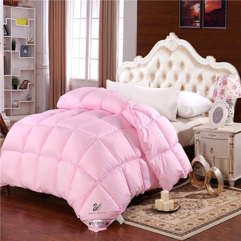 Купить одеяло на утином/гусином пуху одеяло зимнее теплое для отеля