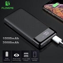 FLOVEME 20000mAh Power Bank Mini 10000mAh Portable External