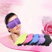 3D Sleep Mask Sleeping Eye Mask Adjustable Eyeshade Cover Shade Eye Patch Portable Blindfold Travel Eyepatch Eye Cover