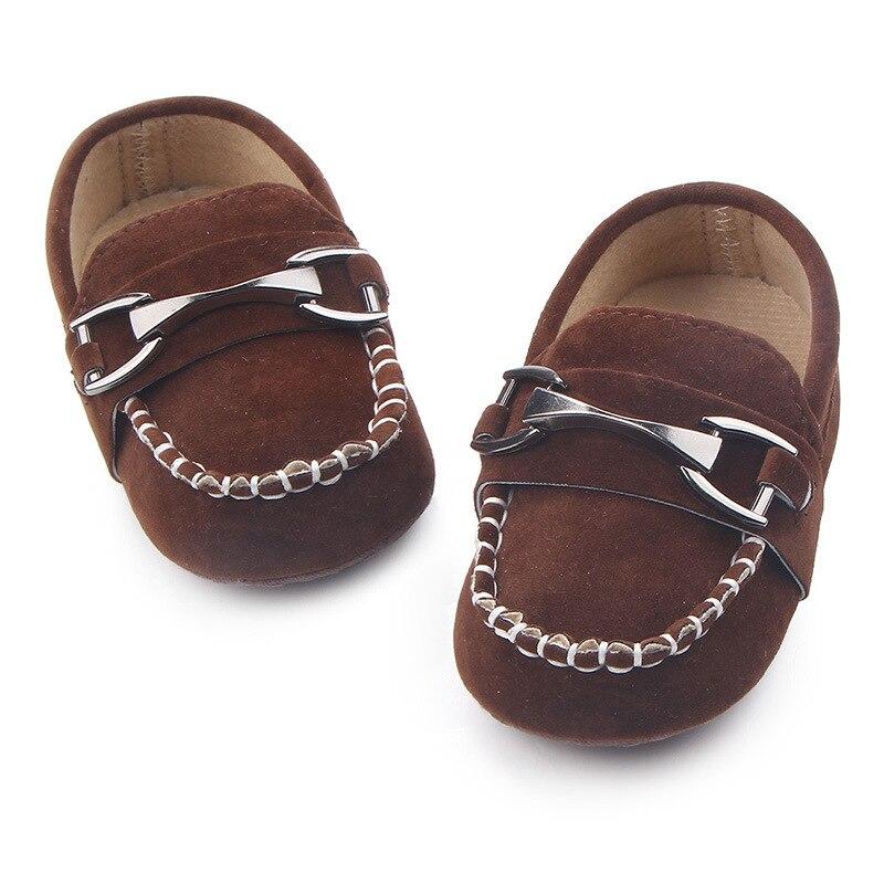 DOGEEK Baby Boy Crib Shoes Newborn Baby