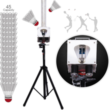 Launcher-Stand-Rack Robot-Machine Badminton Professional Ball Smart Adult 24V Charge