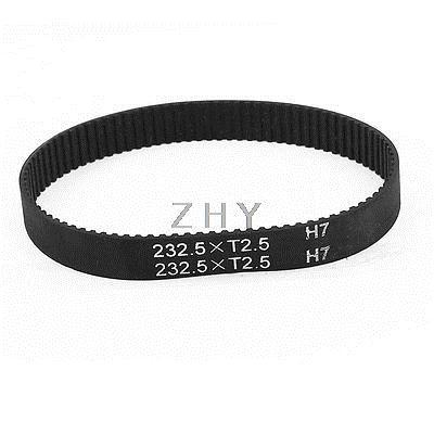 245H 075 19.1 mm Belt Width 49 Teeth Engine Rubber Timing Belt 622.3mm Black