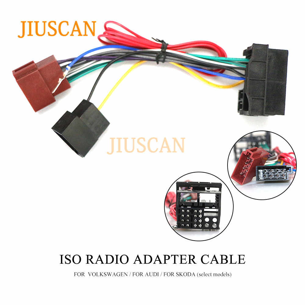 Jiuscan 12 125 Iso Radio Adapter For Bmw 3 Series E90 91 E92 E93 Wiring Harness Connector Lead Loom Cable Plug Adaptor Stereo Car Diagnostic Cables Connectors Aliexpress