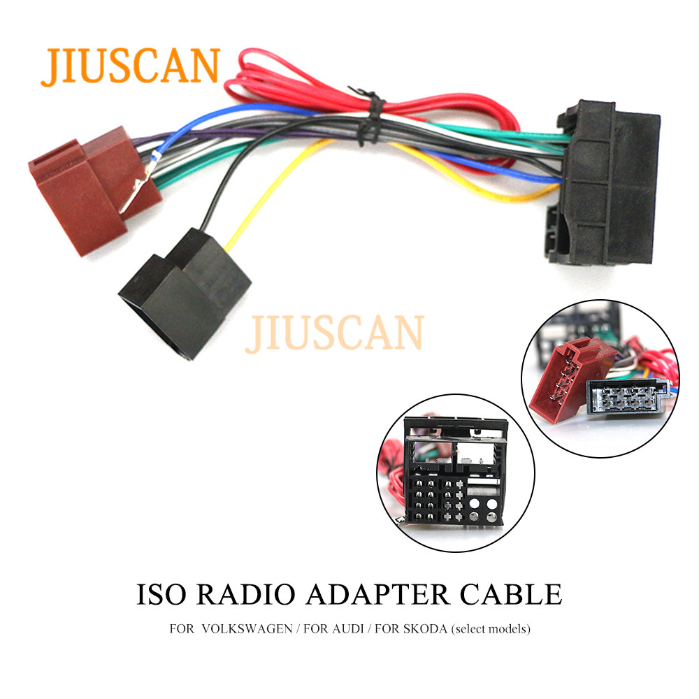 [XOTG_4463]  JIUSCAN 12 125 ISO Radio Adapter for BMW 3 Series (E90/91/E92/E93) Wiring  Harness Connector Lead Loom Cable Plug Adaptor Stereo|Car Diagnostic Cables  & Connectors| - AliExpress | Jvc Wiring Harness Adaptors Bmw |  | www.aliexpress.com