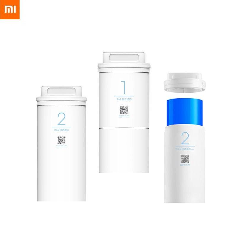 Xiaomi-purificador de agua 500G/1A, filtro de repuesto de algodón PP, filtro de agua potable Válvula de bola electrónica con pantalla LCD para hogar, 2 uds., temporizador de agua para riego del jardín, sistema controlador de temporizador